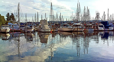 Photograph - Port Of Poulsbo II by Greg Reed