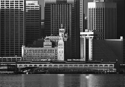 Photograph - Port Of San Francisco by Mick Burkey