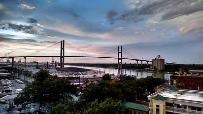 Photograph - Port Of Savannah by David Weeks