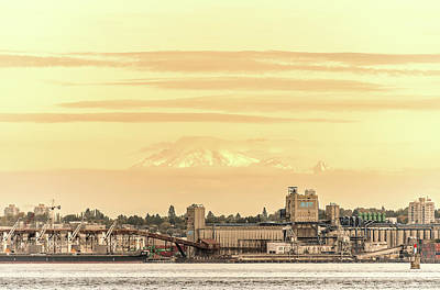Photograph - Port Of Vancouver by Debbie Ann Powell