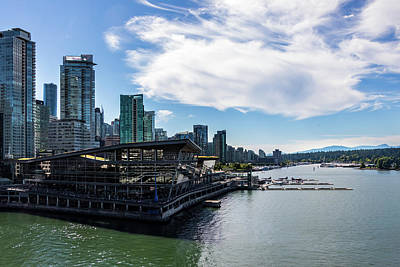 Art Print featuring the photograph Port Of Vancouver by Ed Clark