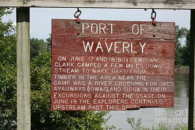 Photograph - Port Of Waverly by Anthony Cornett