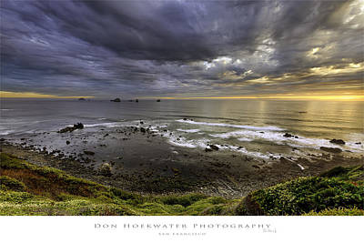 Photograph - Port Orford Cove by PhotoWorks By Don Hoekwater