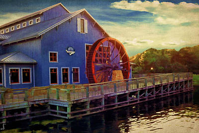 Water Mill Photograph - Port Orleans Riverside by Lourry Legarde