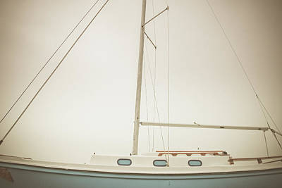 Port - Parts Of A Sailboat Art Print