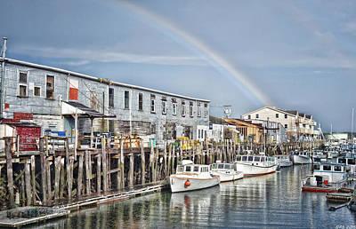 Photograph - Port Rainbow by Richard Bean