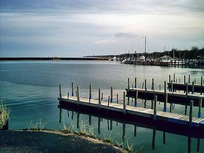 Michigan Port Sanilac Photograph - Port Sanilac Harbour by Bill Noonan