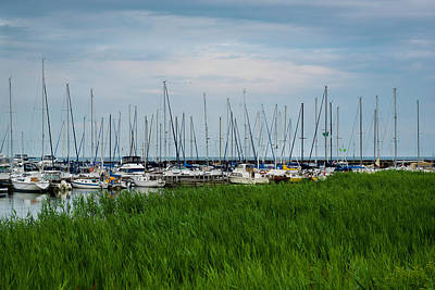 Photograph - Port Sanilac Marina by Scott Cunningham