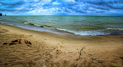 Photograph - Port Sanilac Scenic Turnout Fall by LeeAnn McLaneGoetz McLaneGoetzStudioLLCcom