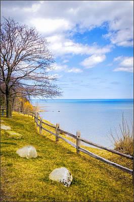 Photograph - Port Sanilac Scenic Turnout Spring by LeeAnn McLaneGoetz McLaneGoetzStudioLLCcom