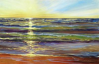 Painting - Port Sheldon by Sandra Strohschein