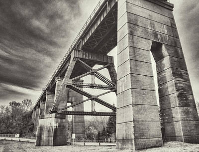 Photograph - Port Stanely Bridge by Garvin Hunter