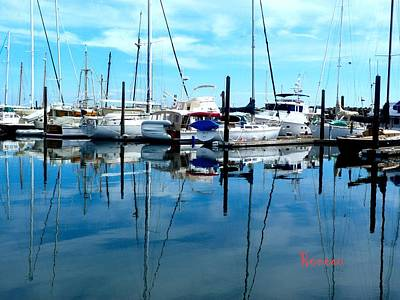 Photograph - Port Townsend Washington Marina 2 by Sadie Reneau