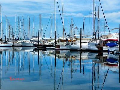 Photograph - Port Townsend Washington Marina 4 by Sadie Reneau