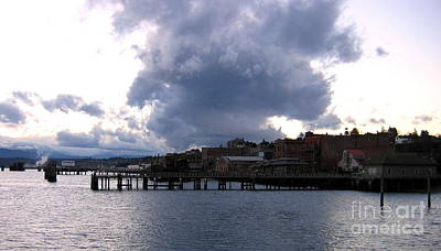 Photograph - Port Townsend Washington Waterfront by Larry Bacon