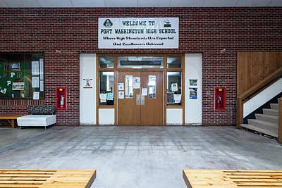 Photograph - Port Washington High School 23 by James Meyer
