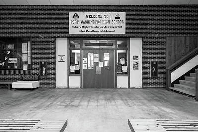 Photograph - Port Washington High School 24 by James Meyer