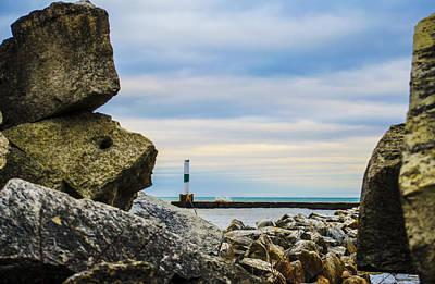 Photograph - Port Washington Light 4 by Deborah Smolinske