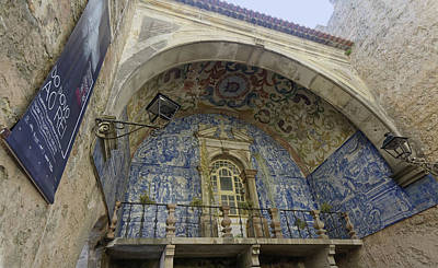 Photograph - Porta Da Vila Tiled Oratory by Sally Weigand