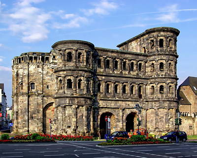 Photograph - Porta Nigra City Gate by Anthony Dezenzio
