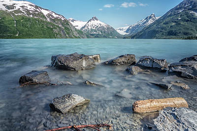 Photograph - Portage Lake, No. 4 by Belinda Greb