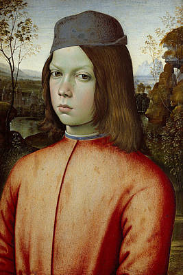 Painting - Portait Of A Boy by Pinturicchio