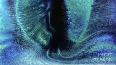 Dark Matter Painting - Portal Between Worlds by Al Sabid Torres