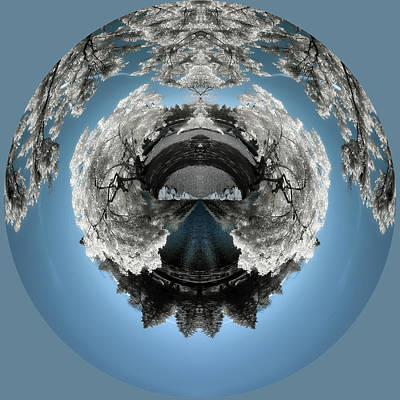 Photograph - Portal Into Another Planet by Wes and Dotty Weber