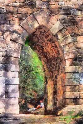 Portal Into Summertime Art Print