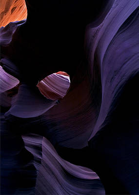 Striations Photograph - Portal by Mike  Dawson