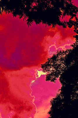 Portal Photograph - Portal Of Thunder For David Navarro 2015 by James Warren