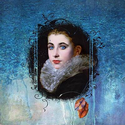 Vintage Painting - Portal Portrait by Laura Botsford