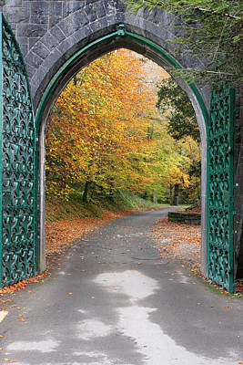 Portal Photograph - Portal To The Colorful Autumn Season by Pierre Leclerc Photography