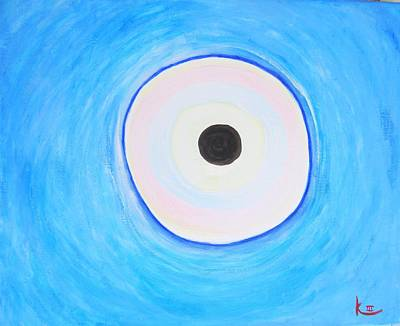 Self-knowledge Painting - Portal To The Inner Worlds by Khamara Paintings