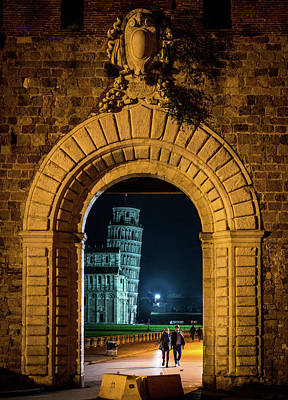 Photograph - Portal To The Tower by Michael Thomas