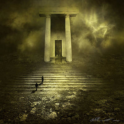 Manipulation Mixed Media - Portal Z by Svetlana Sewell