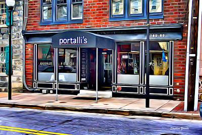 Md Digital Art - Portalli's by Stephen Younts