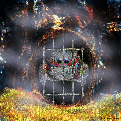 Digital Art - Portcullis by Iowan Stone-Flowers