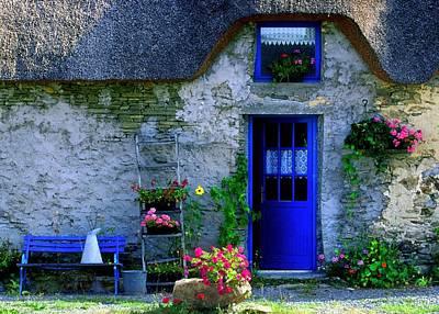 Photograph - Porte Bleue by John Galbo