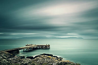 Photograph - Portencross Pier by Ian Good