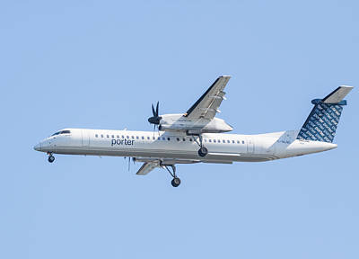 Photograph - Porter Airlines by Brian MacLean