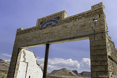Photograph - Porter Brothers Emporium Rhyolite by Fran Gallogly