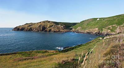 Photograph - Porth Ledden Panorama by Terri Waters