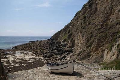 Photograph - Porthgwarra Cove by Paul Felix