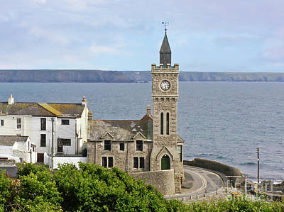 Photograph - Porthleven Institute Cornwall by Terri Waters