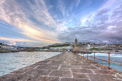 Photograph - Porthleven Sky by Hazy Apple