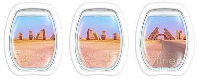 Photograph - Porthole Windows On Ras Mohammed by Benny Marty