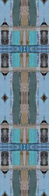 Portico Column II Art Print by Ruth Palmer