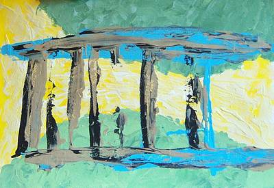 Painting - Portico by Helene Henderson