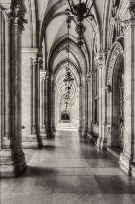 Photograph - Portico by Roberto Pagani
